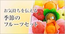 お気持ちを伝える 季節のフルーツセット